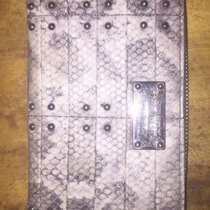 Nine West Croc Wallet